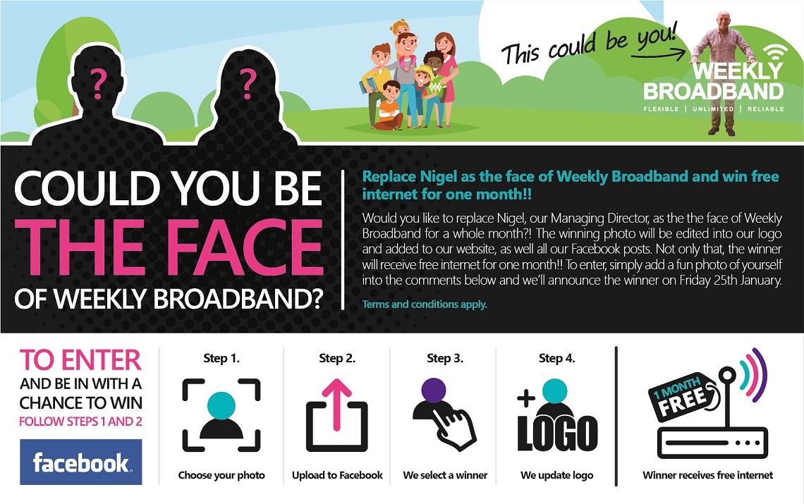 Win broadband for a month