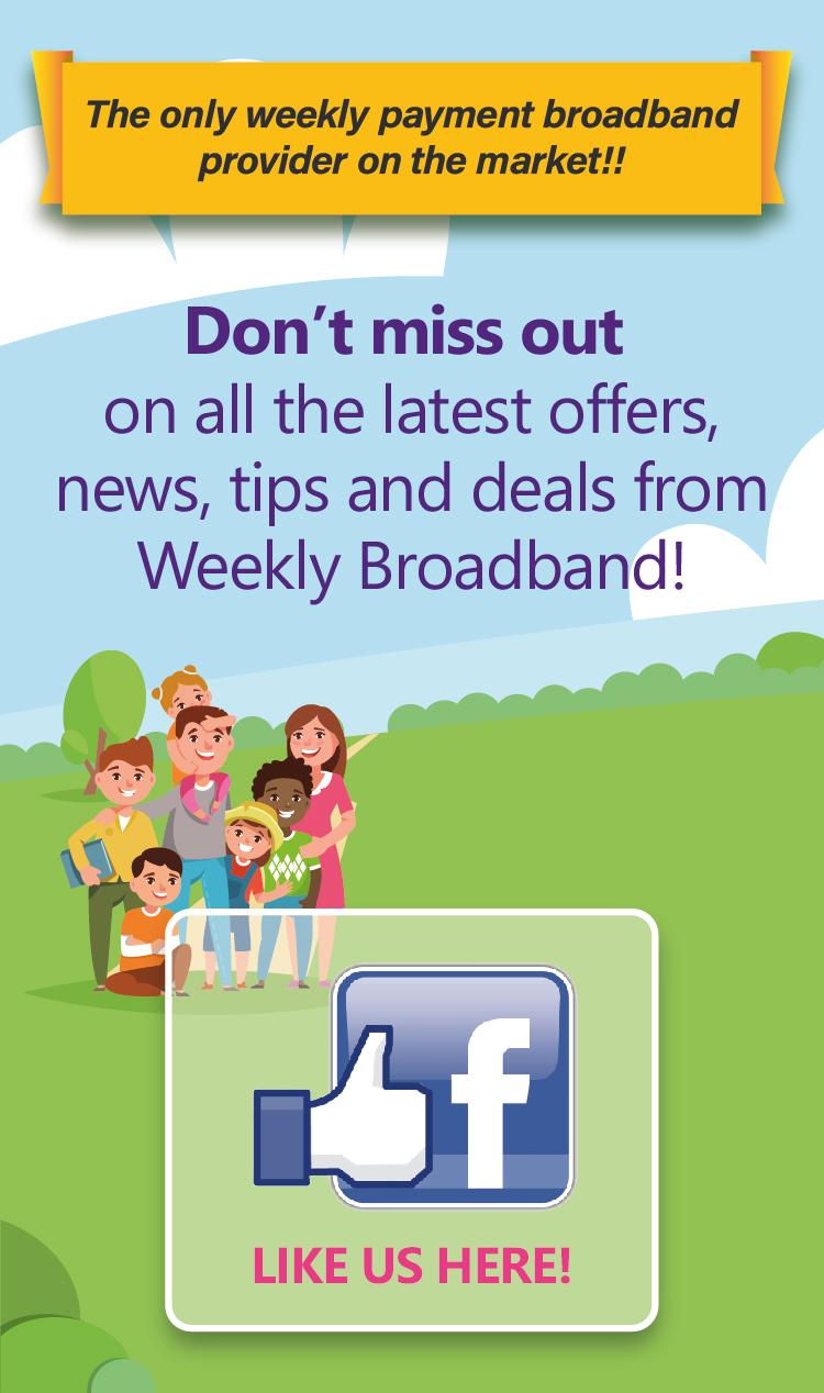 No contract No Credit Check Broadband