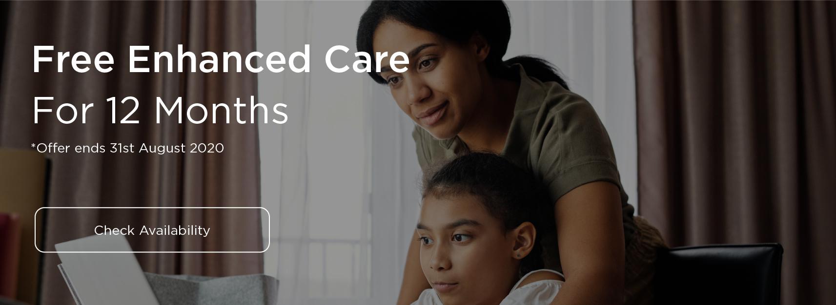 Free enhanced care